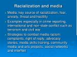 racialization and media