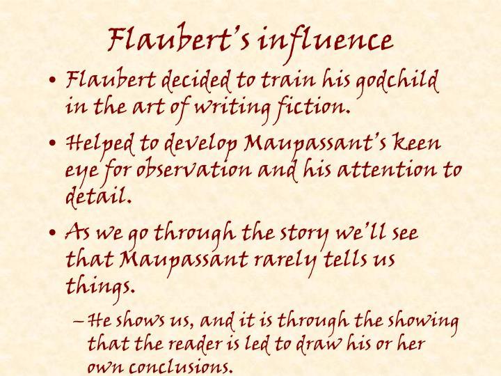 Flaubert's influence
