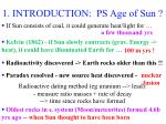 1 introduction ps age of sun