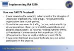 implementing ra 7279