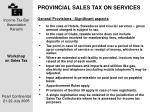 provincial sales tax on services5