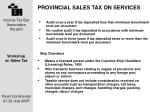 provincial sales tax on services7