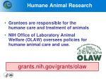 humane animal research
