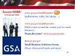 access osbu www gsa gov osbu