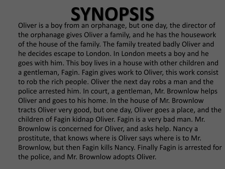 oliver twist full story summary