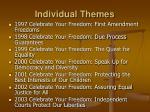 individual themes