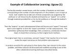 example of collaborative learning jigsaw 1