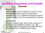 business expansion and growth1