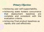 primary objectives2