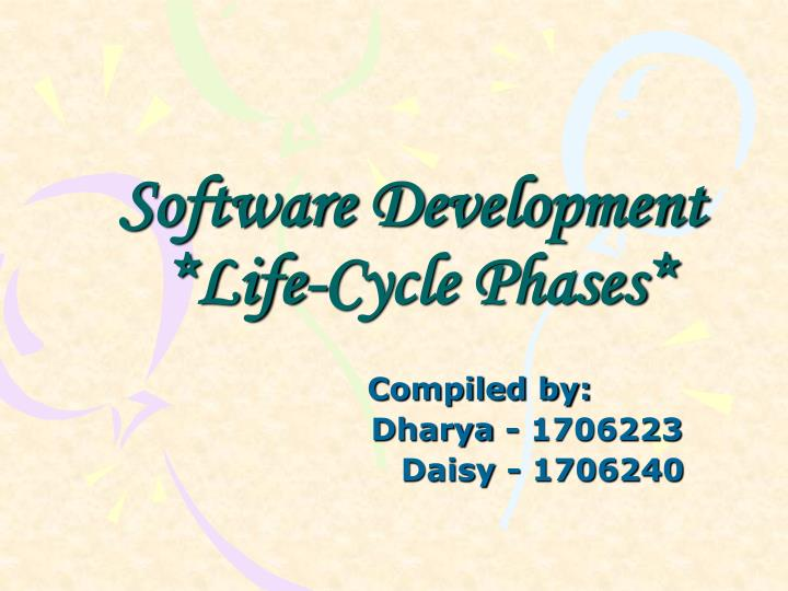 software development life cycle phases n.