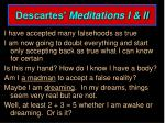 descartes meditations i ii