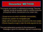 descartes method