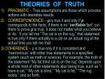 theories of truth