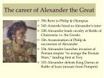 the career of alexander the great