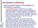 hermeneutics of meanings10