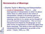 hermeneutics of meanings4