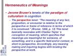hermeneutics of meanings5