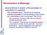 hermeneutics of meanings6