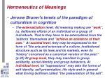 hermeneutics of meanings8
