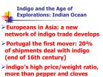 indigo and the age of explorations indian ocean
