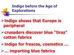 indigo before the age of explorations1