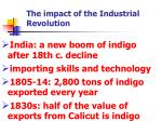 the impact of the industrial revolution1