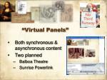 virtual panels