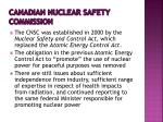 canadian nuclear safety commission