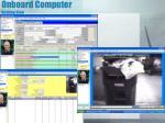 onboard computer desktop view