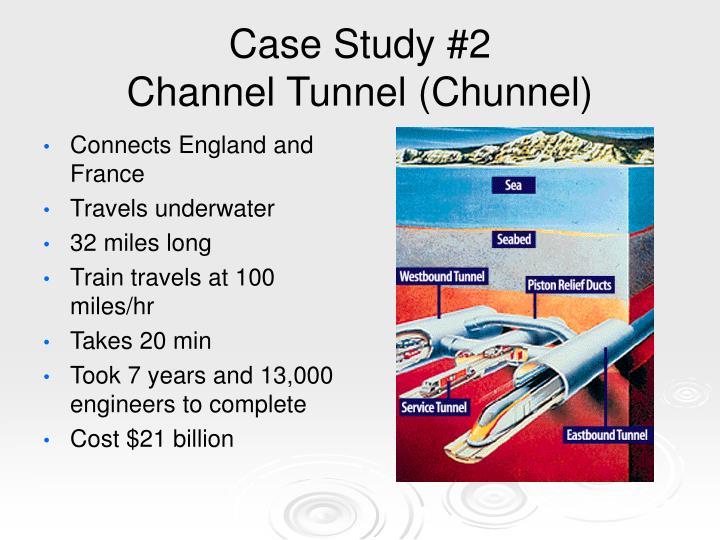 The Chunnel Case Study | Project Management | Procurement