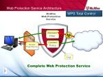 web protection service architecture
