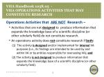vha handbook 1058 05 vha operations activities that may constitute research2