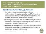 vha handbook 1058 05 vha operations activities that may constitute research5
