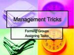 management tricks1