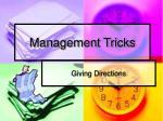 management tricks2