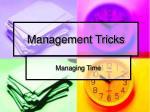 management tricks3