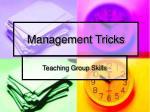 management tricks4