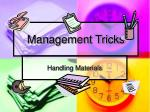 management tricks5