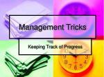 management tricks8