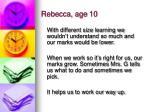rebecca age 10