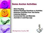some anchor activities1