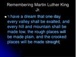 remembering martin luther king jr1