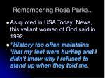 remembering rosa parks1
