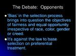 the debate opponents2