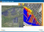 flood levels of risk