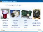 infoterra airborne sensors