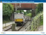 rapid surveyor installation on rail equipped land rover