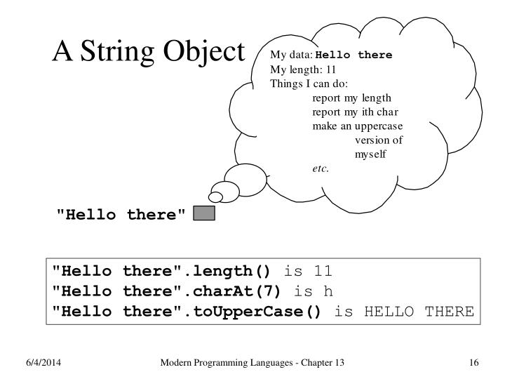 A String Object