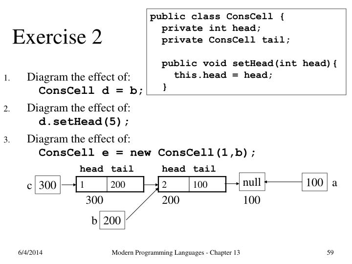 public class ConsCell {